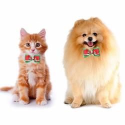 JS Verstelbare Kerststrik voor de Hond of Kat