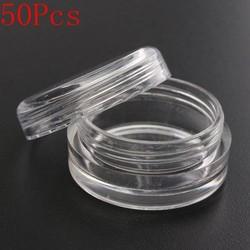 JS Plastic Bakjes met Dop 50 Stuks