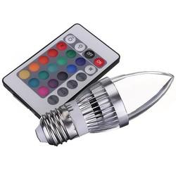 JS Kaarslamp LED Verlichting met Afstandsbediening