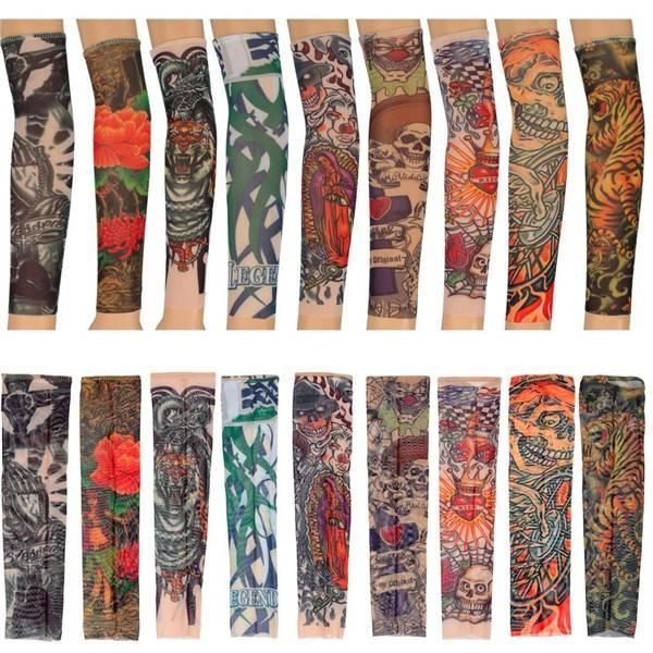Tattoo Arm Sleeve gemaakt van Nylon