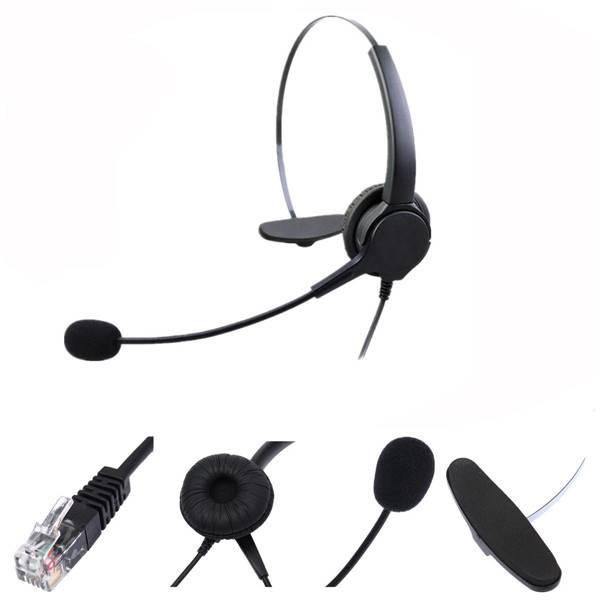 Desk Phone Headset RJ11
