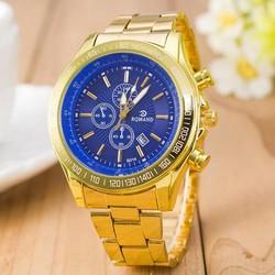 RQMAND Goudkleurig Horloge