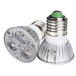 JS E27 3W LED Lamp in het Rood & Etc