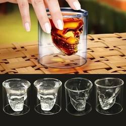 MyXL Schedel Glas 4 Stuks