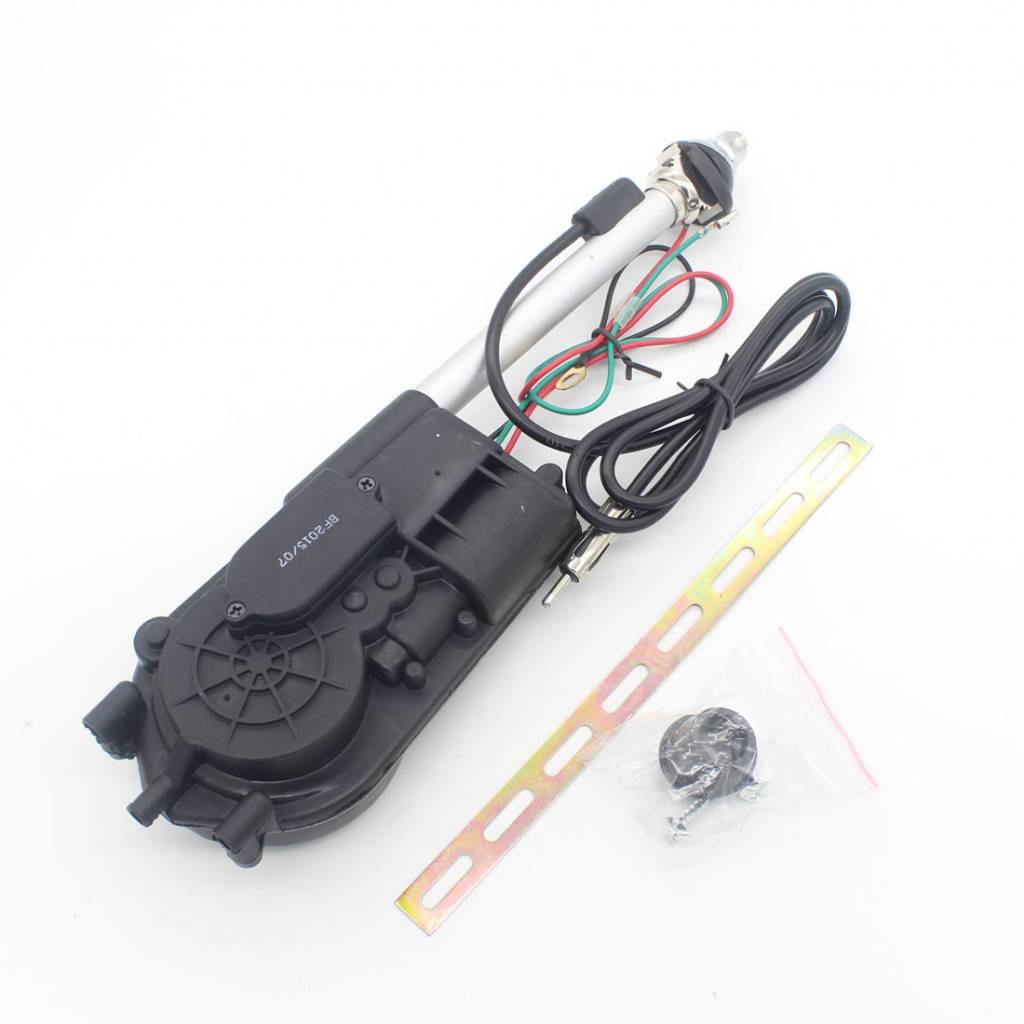 1X Universele Auto Antenne Antena Elektrische Radio Antenne Automatische Booster SUV Elektrische Pow