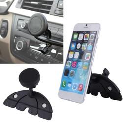MyXL Universele Verstelbare CD Speler Slot Smartphone Mobiele Telefoon Auto Mount Houder 360 Roterende Magneet Stand Beugel voor Mobiele GPS AD