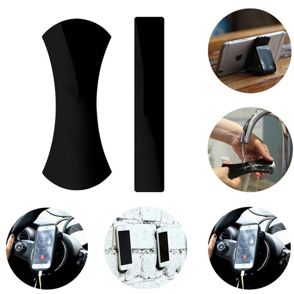 2 stks Magic Nano Rubber Pad Universele Sticker Geen Spoor Mobiele telefoon Houder Auto Kits Auto Br