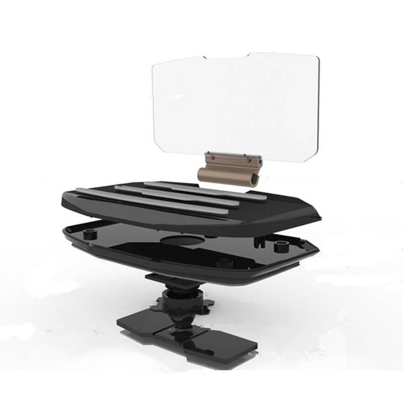 * DSYCAR Universele Auto Mobiele Telefoon GPS Navigatie Beugel Houder HUD Hoofd up display voor fiat
