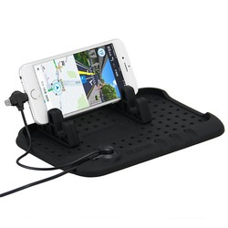 MyXL Digitalboy Auto Telefoon Houder Mobiele Pad Verstelbare Beugel Stand voor iPhone 6 s Samsung xiaomi Auto Mount Houder + USB kabel Opladen
