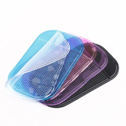 MyXL 5 Stks 5 Kleuren Auto Dash Anti Slip Zachte Matten Sticky Pads voor Telefoon Sleutel Pen Zonnebril