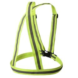 MyXL Verstelbare Veiligheid Veiligheid Hoge Zichtbaarheid Jas Reflecterende Vest Gear Strepen Riem Jas reflecterende-veiligheid-vest