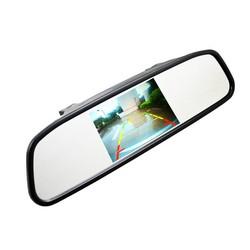 """MyXL 4.3 """"4.3 inch TFT LCD-KLEURENSCHERM Car achteruitkijkspiegel monitor video dvd-speler car audio auto voor Auto Reverse camera"""