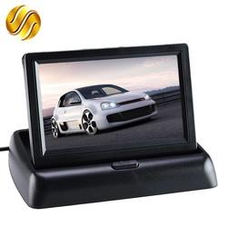 """MyXL Auto Monitor 4.3 """"Display voor Achteruitrijcamera Opvouwbaar Kleur TFT LCD 4.3 Inch HD Scherm Voor Car Reverse"""