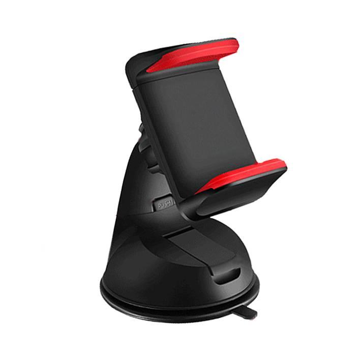 Dubbele clip mobiele telefoon houder voor auto universele mobiele telefoon mount houder stand voor i