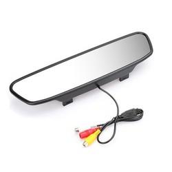 """MyXL Auto Monitor 4.3 """"Screen Voor Auto Achteruitrijcamera Reverse Camera TFT LCD Achteruitkijkspiegel Display 4.3 Inch Kleur HD"""