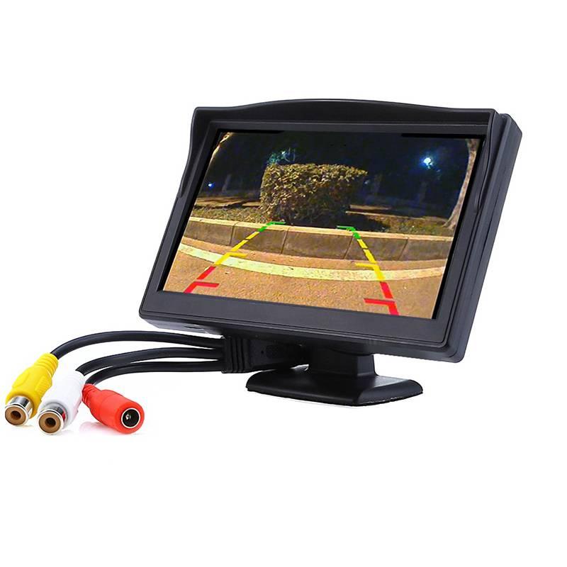 5 inch Kleur auto monitor TFT LCD-KLEURENSCHERM video dvd-speler car audio auto voor Auto Reverse ca