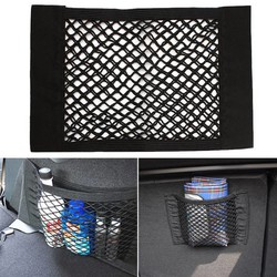 MyXL Autostoel Kofferbak Organizer Terug Opslag Elastische Mesh Net Tas Bagage Houder Pocket Sterke Interieur Accessoires 1 Stks Universele