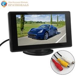MyXL 4.3 Inch Kleuren TFT LCD Parking Auto achteruitrijcamera Monitor Auto achteruitkijkspiegel Backup Monitor 4.3 ''2 Video-ingang voor Achteruitrijcamera DVD