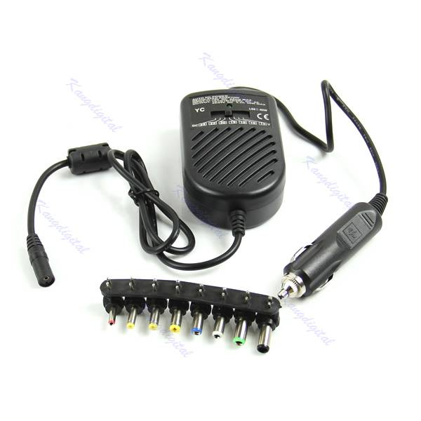 Auto Styling Universele DC 80 W Car Auto Charger Voeding Adapter Set Voor Laptop Notebook