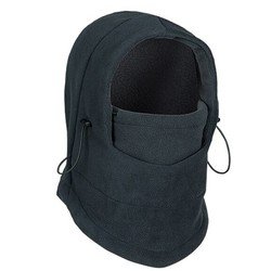 MyXL Verstelbare Zwart Warm Fleece Winter Maskers Ski Gezicht CS Masker Hat Protected Ear Mutsen Ski Skull Snowboard Cap