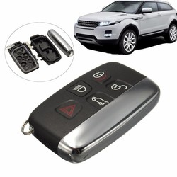 MyXL 5 Knop Afstandsbediening FOB Key Case Cover Shell Voor LAND ROVER LR4 Range Rover Sport Evoque