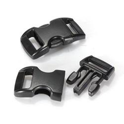 "MyXL AYHF-Lot 100 stks 10mm 3/8 ""Survival Paracord Armbanden Gebogen Zijsluiting"
