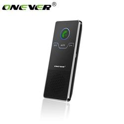 MyXL Onever Draadloze Handsfree Bluetooth Carkit Zonneklep Handsfree Speaker Speakerphone Auto Audio Mp3-speler Voice Broadcast
