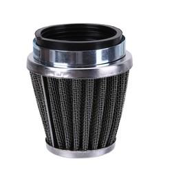MyXL Motorfiets Luchtfilter 52mm 2 Layer Stalen Netto Filter Gaas Motorfiets Klem-op Luchtfilter Cleanerauto styling