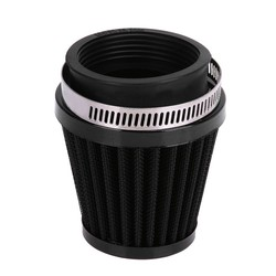 MyXL Motorfiets Luchtfilter Paddestoel Hoofd Filters Universele 34mm 35mm 36mm Motorfiets Luchtinlaatfilter Cleaner Zwarte Auto styling