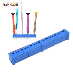 MyXL SANHOOII Gereedschap Magnetische Organizer Opslag Houder Plank voor Snijmes Pincet Schroevendraaier Schroef Telefoon Metalen Reparatie Tool
