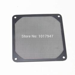 MyXL 2 Stuks lot 120mm PC Fan Aluminium Stofdicht Filter Stainless Mesh Zwart
