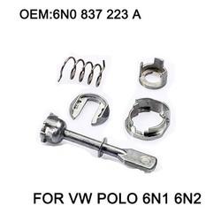 MyXL 5 Stuk Auto Ijzer Deurslot Cilinder Reparatie Kit Vw POLO 6N1 6N2 1997-2002 Linker of Rechts OE #6N0 837 223A