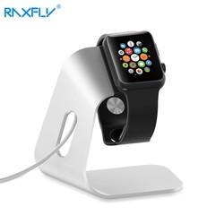 MyXL RAXFLY Smartwatch Houder Stand Universal Dock Charger voor Apple Horloge voor iWatch 42mm 38mm Aluminium Draagbare Laadstation