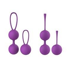MyXL Kegel Oefening Vaginale Ballen Gewichten Blaas Controle Bekkenbodem Oefeningen 2 Stks/set Premium Kegels Met Training Kit voor Vrouwen