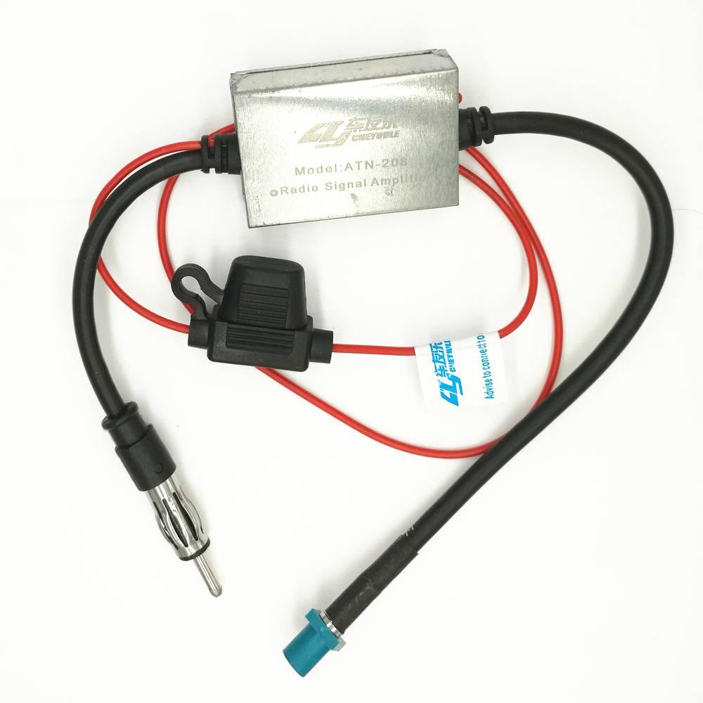 VW Radio Signaal FM Versterker Auto Antenne Booster 88-108 Mhz Voor Volkswagen (6.8)