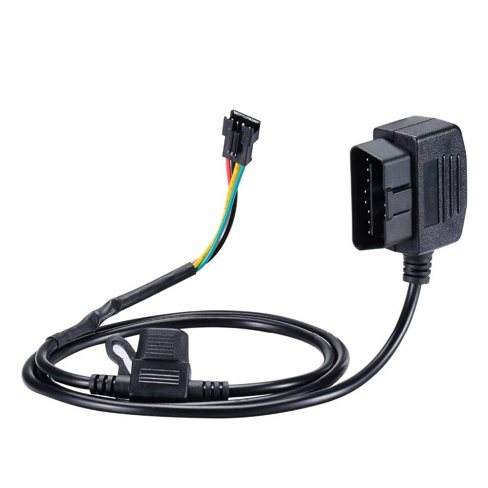 12 V 16 Pin OBD OBD2 OBDII Adapter Extension Connector Kabel voor GPS tracker