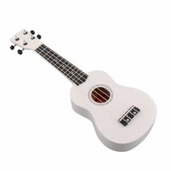 MyXL 21 inch uke ukulele ukelele mahalo wit 4 string art geschenken sopraan muziek gitaar instrument voor beginners gitarist
