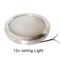 MyXL 4 stks Koel Wit 12 v DC LED Onder Kast Verlichting Aluminium Cover Caravan RV Interieur Verlichting Dak Keuken/wijn Kast Lampen
