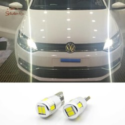 MyXL 2X LED T10 W5W Klaring Lichten Parkeerplaats licht Voor VW POLO Golf 4 5 6 7 GTI Passat b5 B6 JETTA MK5 MK6 CC EOS Touareg Kever