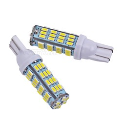 MyXL 2 stks T10 54LED SMD Auto Lamp Auto Auto LED T10 led Lamp194 W5W led 3014 smd Wedge Gloeilamp T10 54SMD Wit licht
