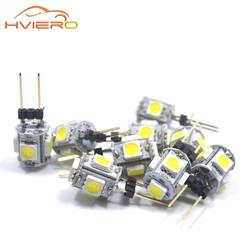 MyXL 10 stks Mini G4 LED Lamp COB LED 3 W AC/DC 12 V Auto Aoto Dashboard LED Licht Dimbare 360 Stralingshoek Kroonluchter Lichten Vervangen lampen