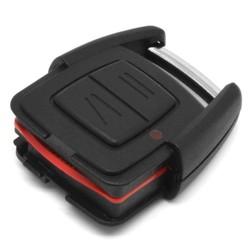 MyXL Vehemo 2 Knop Slimme Afstandsbediening Sleutel Keyless Case Voor OPEL ZAFIRA VECTRA Zwart Vervanging