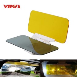 MyXL YIKAAuto Automobiel Zonneklep Uv Blok Vizier Dag & Nacht Non Glare Anti-Dazzle Zonnescherm Spiegel Bril Shield