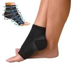 MyXL 20161 Mannen Vrouwen Voet Compressie Sokken Anti Vermoeidheid Angel Circulatie Ankle Zwelling Relief