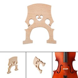 MyXL Homeland1 st Cello Bridge Maple Materiaal Voor 1/2 Cello Accessoires En Onderdelen