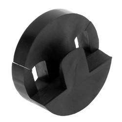 MyXL 35x35mmAkoestische Cello Duurzaam Ronde Circulaire Rubber Ontwerp Mute Silencer lichtgewicht Zwart Cello onderdelen