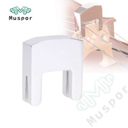 MyXL 3/4-4/4 Cello Practice Mute voor Cello Strings Onderdelen Metalen Zilver