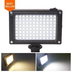 MyXL Ulanzi 96 LED Telefoon Video Light Photo Verlichting op Cameraschoen LED Lamp voor iPhoneX 8 Camcorder Canon/Nikon DSLR Live Stream