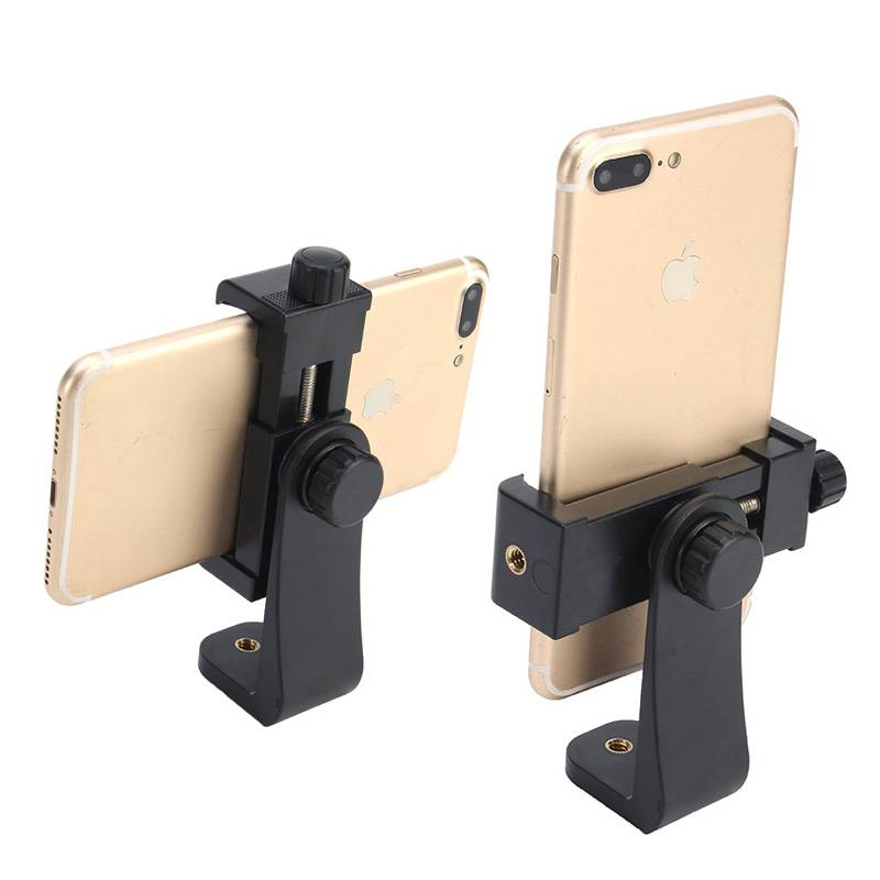 Statief-Mobiele Telefoon Clipper Verticale Beugel Smartphone Clip Houder 360 Adapter Voor iPhone Voo