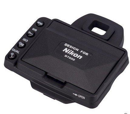 Camera LCD Hood Screen Protector en Zonnescherm Shield Cover Shade voor Nikon D7000 Split type